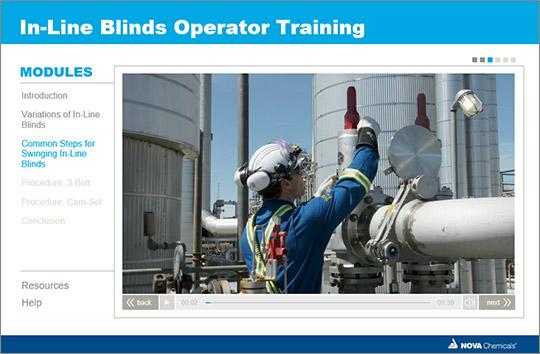 Nova In-line Operator Training Module